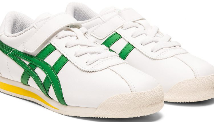 Onitsuka Tiger_TIGER CORSAIR™中童鞋(綠)_建議售價NTD 1,980 (2)