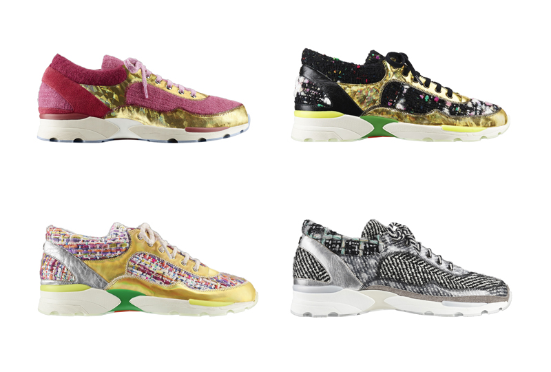 chanel 2014_15 fall winter the sneaker collection