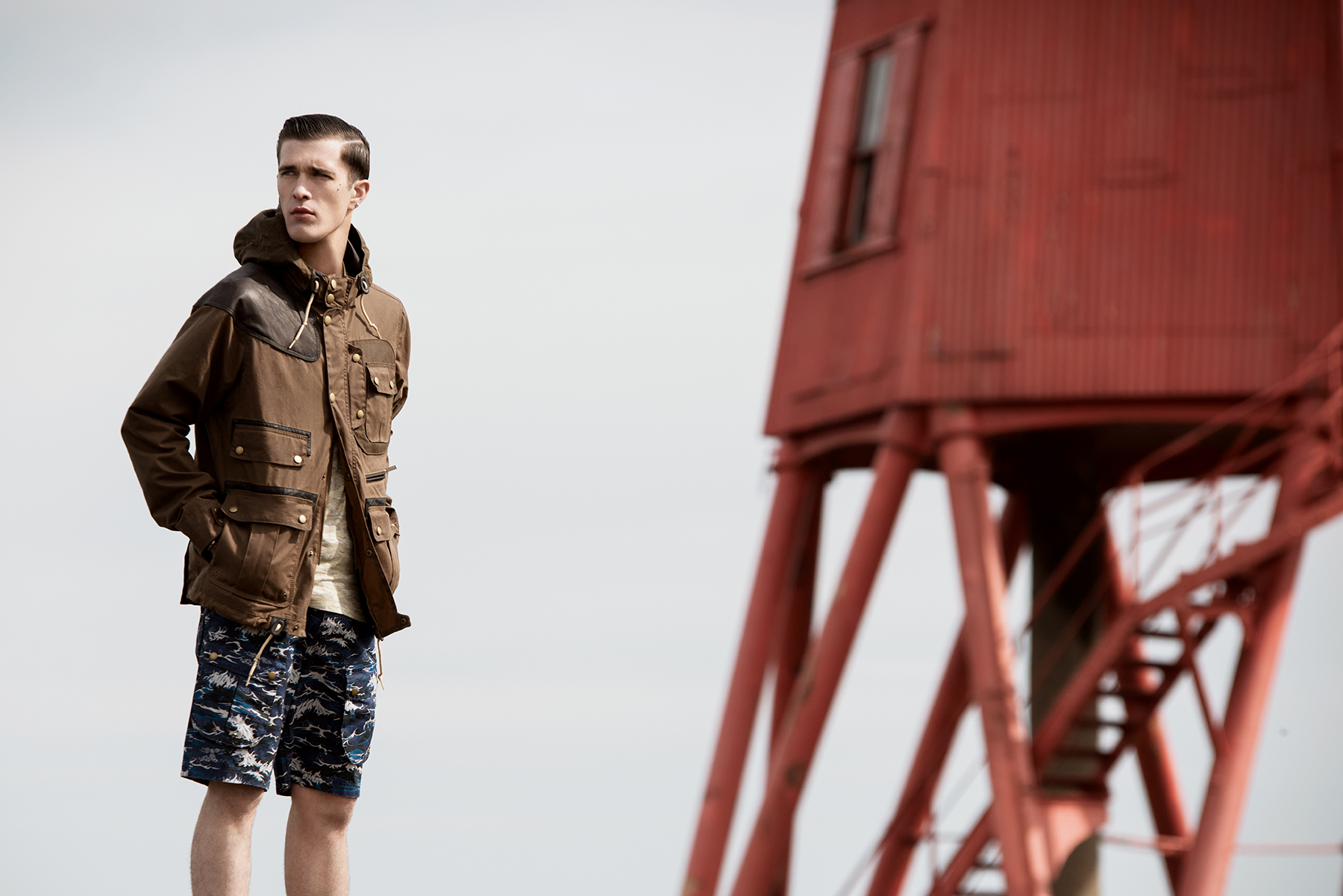 0f46bf65d91c Barbour X White Mountaineering – Waxed Mountain Parka   – KEEDAN.COM