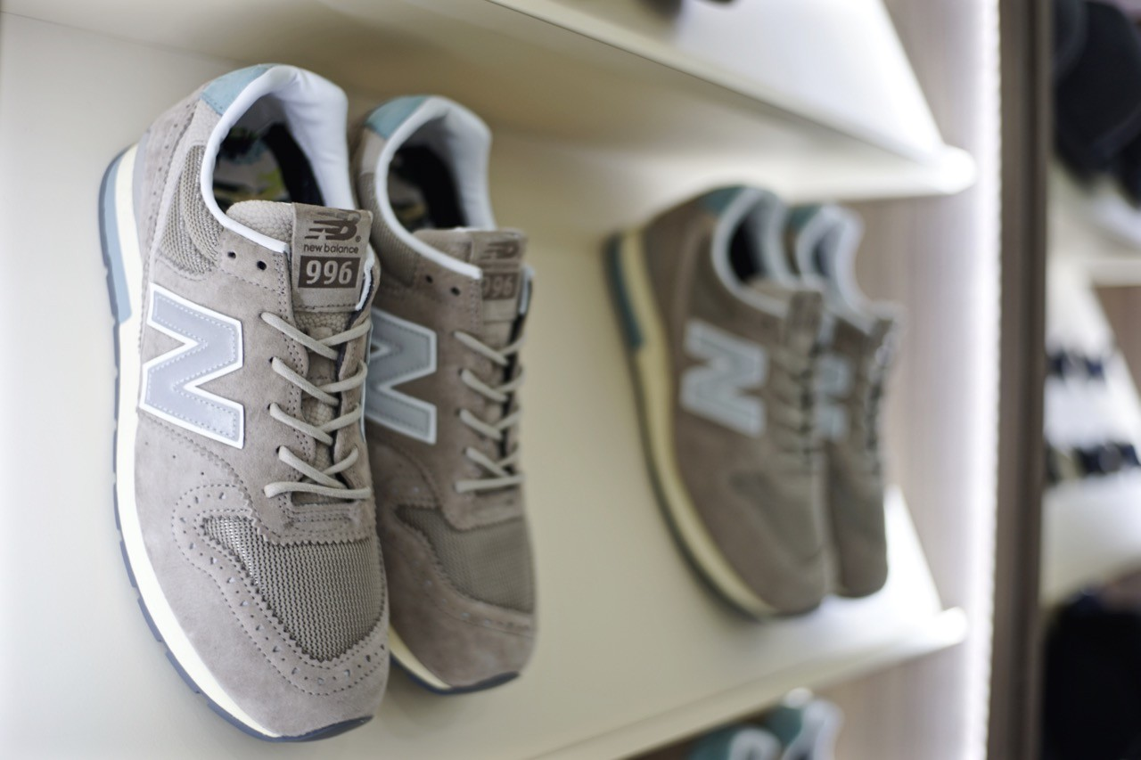 purchase cheap 6519d 78d28 名流紳士/ INVINCIBLE X NEW BALANCE MRL996IN 媒體發表會現場 ...