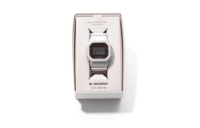 buy online f94d3 464a1 銀色時計/ BEAUTY & YOUTH x G-SHOCK DW-5600 聯名錶款– KEEDAN.COM