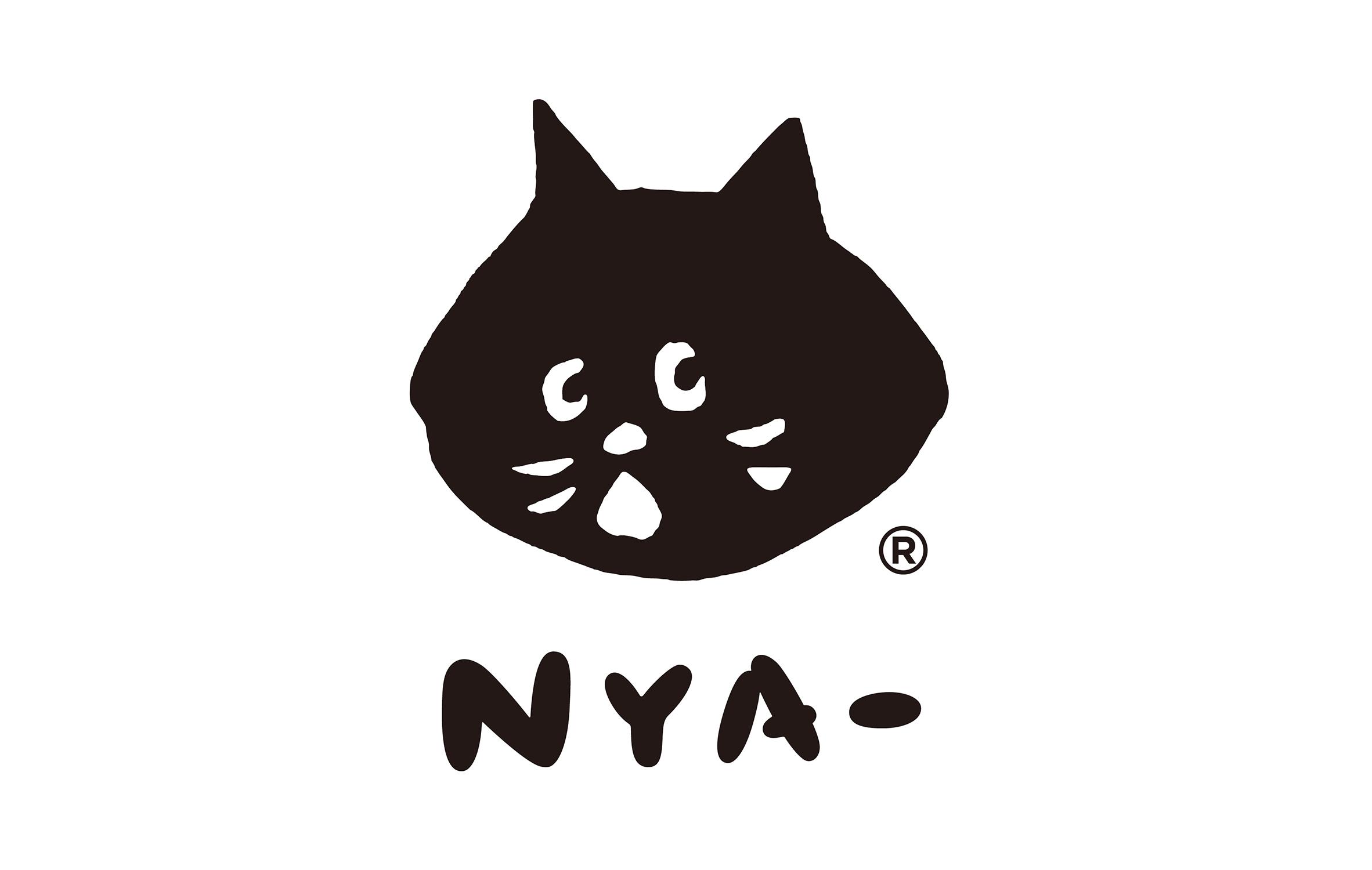 nya- 的最大特点就是脸部表情总是带著惊喜表情,并且喜欢将头与身体