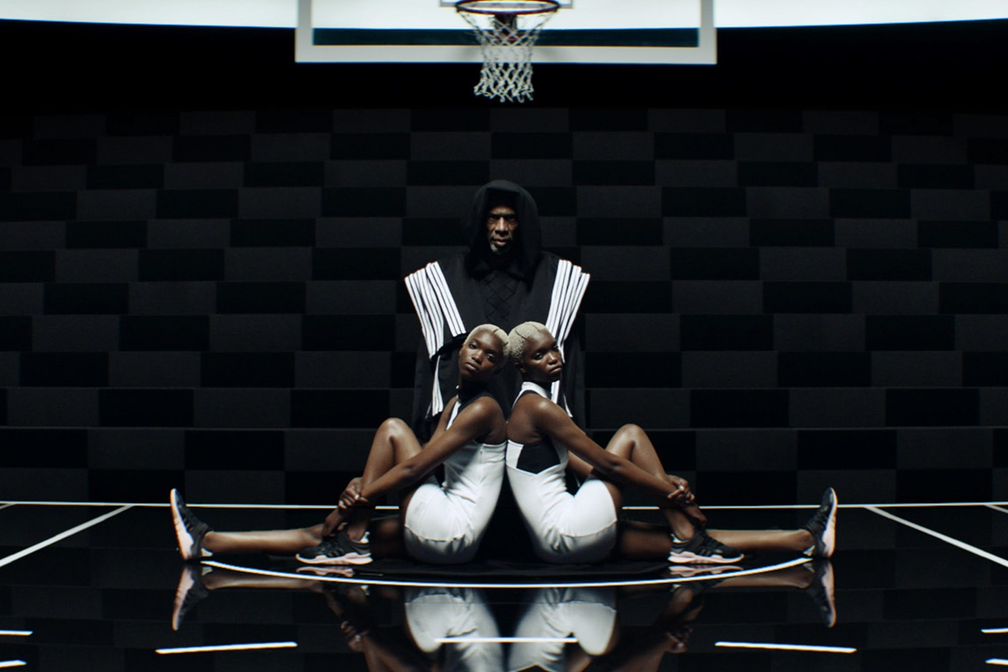 "ORIGINAL is never finished. - Kareem Abdul-Jabbar & Brandon Ingram in ""Raining Basketballs"""