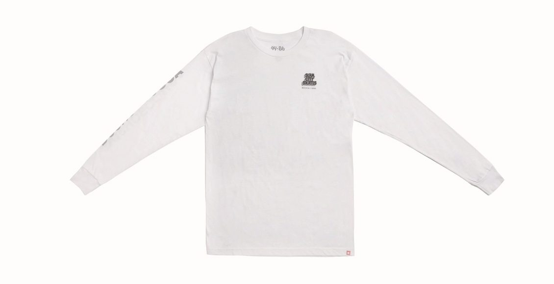 SLAM CITY LS NT$1,380 (白)