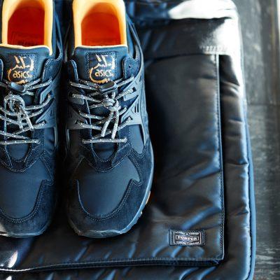 "ASICS TigerXPORTER_THAT BLACK NYLON_採用Porter 招牌黑色尼龍結合麂皮製作鞋身。<div style=""font-size:.8em;opacity:.8;color:#51c732;"">雙單位首次企劃聯名鞋款</div>"