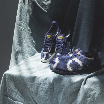 "onitsuka-tiger-indigo-dye-samsaralo-and-mexicodelegation-01<div style=""font-size:.8em;opacity:.8;color:#51c732;"">每一雙皆為獨一無二的「藍染め」鞋履</div>"