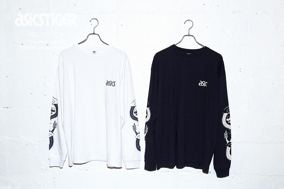 "BEAMS x mita sneakers x ASICS Tiger GEL-Lyte III ""Souvenir Jacket"" (10)"