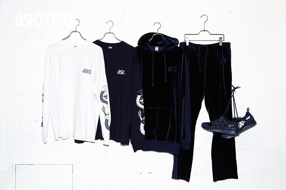 "BEAMS x mita sneakers x ASICS Tiger GEL-Lyte III ""Souvenir Jacket"" (2)"