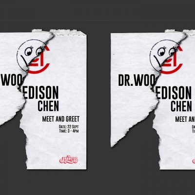 "DR WOO CLOT<div style=""font-size:.8em;opacity:.8;color:#51c732;"">台灣限定 T-Shirt 即將發售</div>"