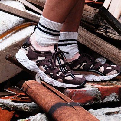"Patta x ASICS Tiger GEL-MAI KNIT<div style=""font-size:.8em;opacity:.8;color:#51c732;"">源自 90 年代之 GEL-MAI 鞋履首次針織進化</div>"