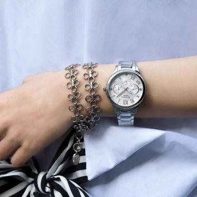 """CASIO SHEEN (1)<div style=""""font-size:.8em;opacity:.8;color:#51c732;"""">優雅、智慧、耀眼的女錶系列</div>"""