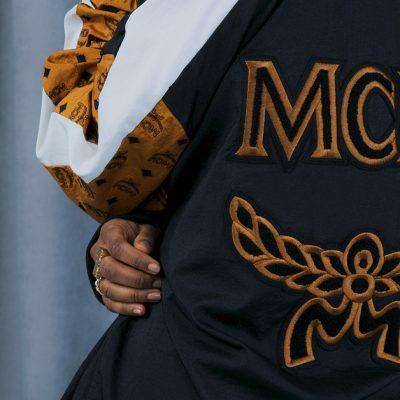 """MCM x PUMA Suede (1)<div style=""""font-size:.8em;opacity:.8;color:#51c732;"""">Cognac Visetos 花紋遇上 PUMA Suede</div>"""