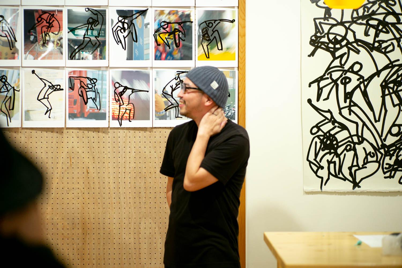 20181026-Yutaka-Hashimoto-Exhibition-in-samplus-L1000065