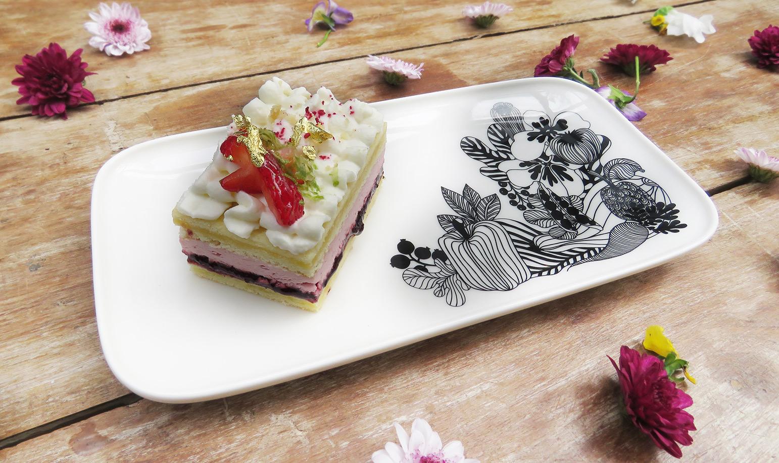 覆盆莓乳酪慕斯維多莉亞蛋糕_NT$130
