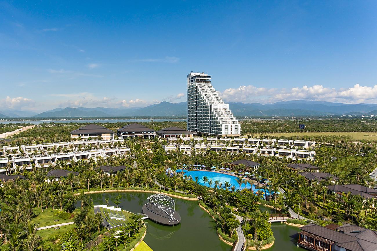 芽莊金蘭杜雲哈五星級度假村全景