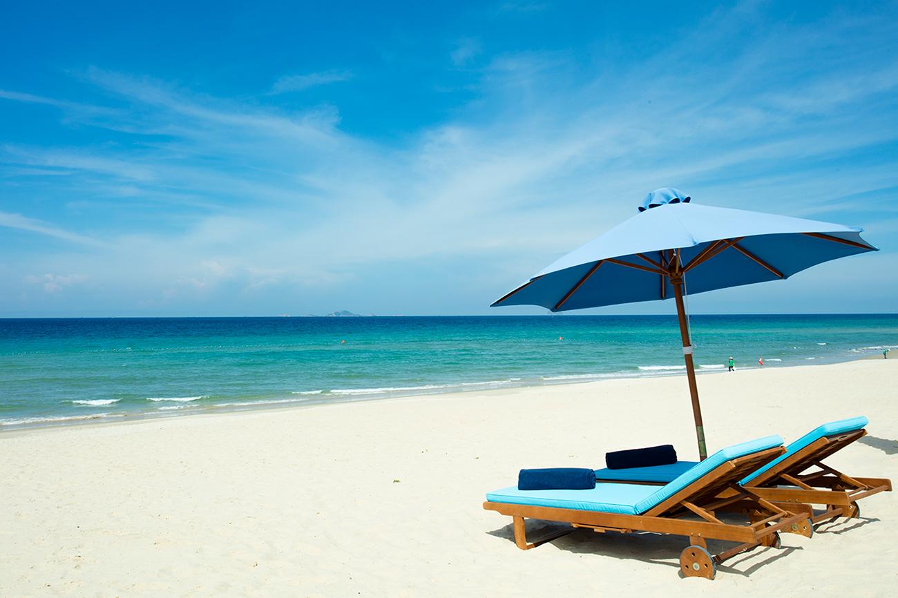 芽莊金蘭杜雲哈五星級度假村海灘