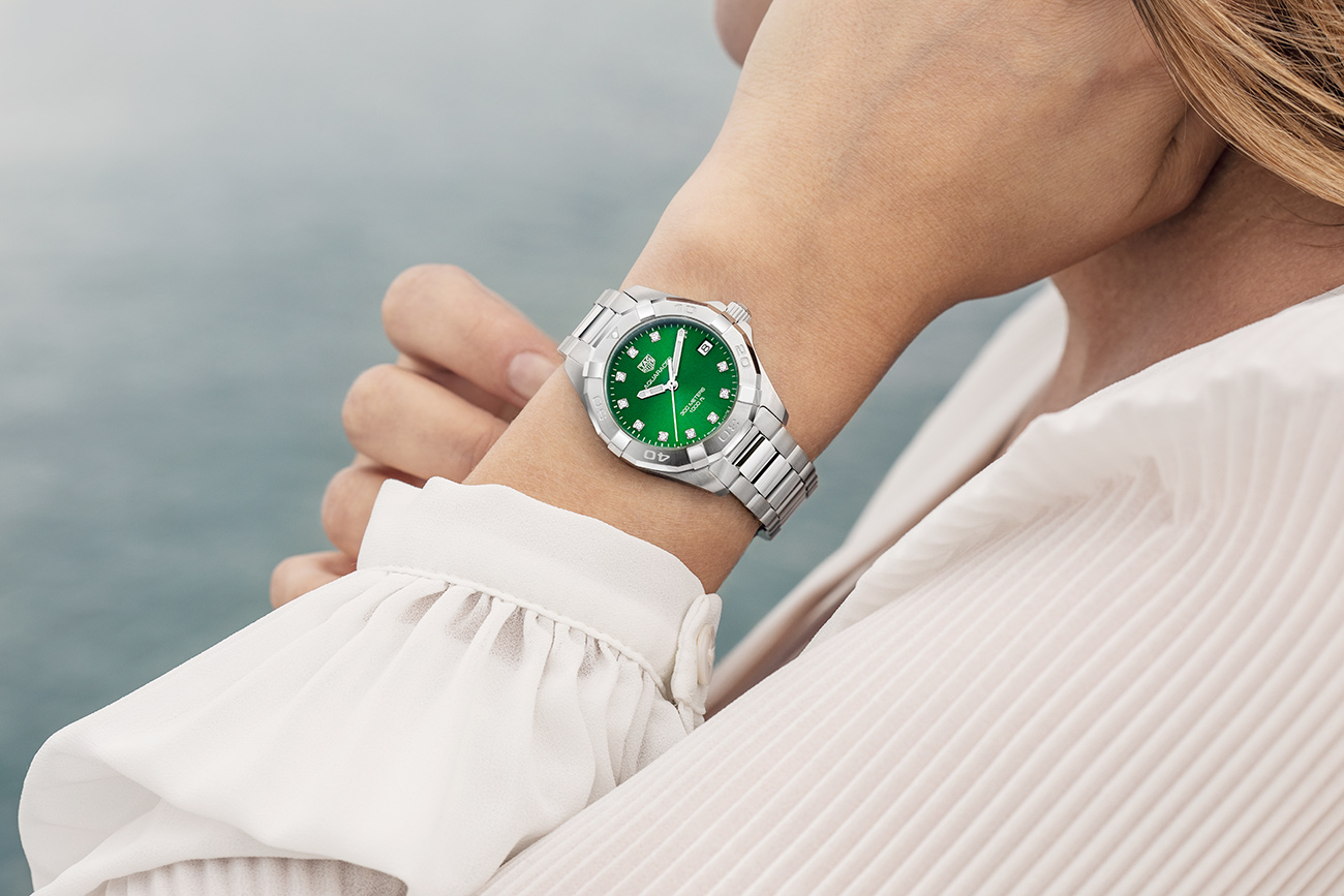 TAG-Heuer-Aquaracer-Ladies-Green-參考編號WBD1316.BA0740-形象圖2