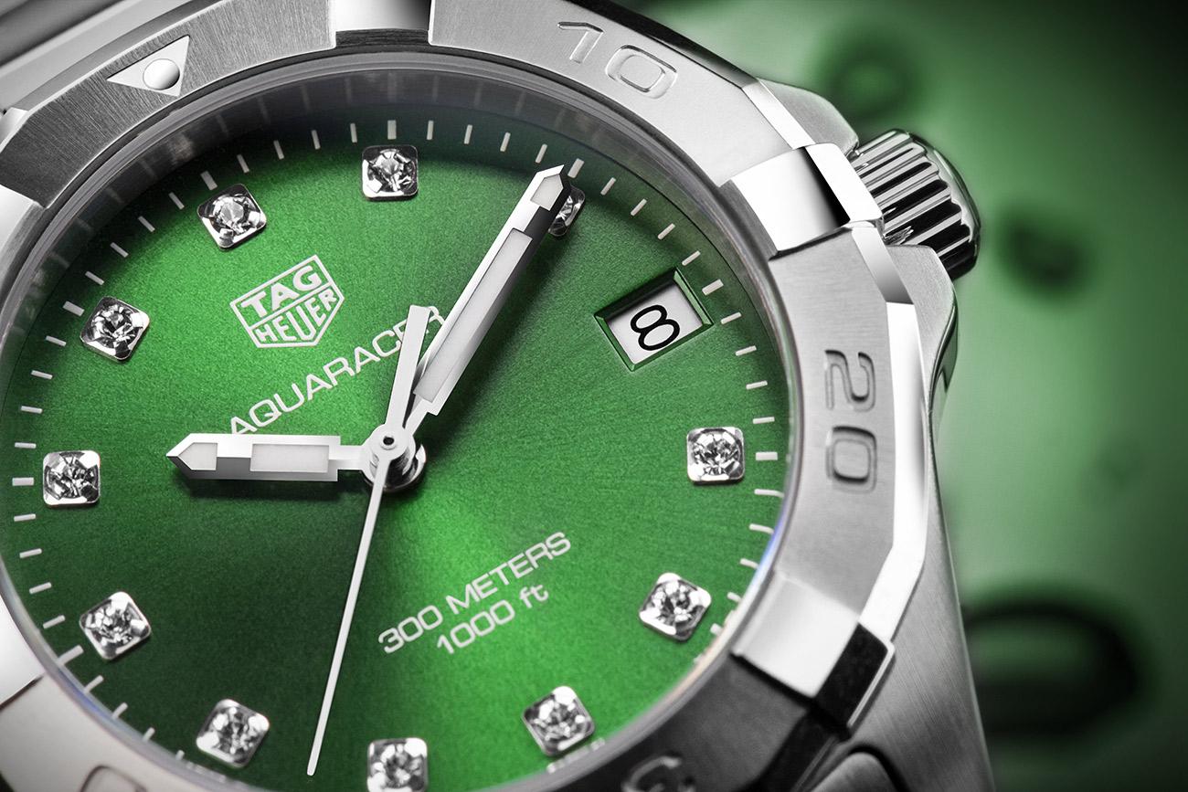 TAG-Heuer-Aquaracer-Ladies-Green-參考編號WBD1316.BA0740-形象圖3