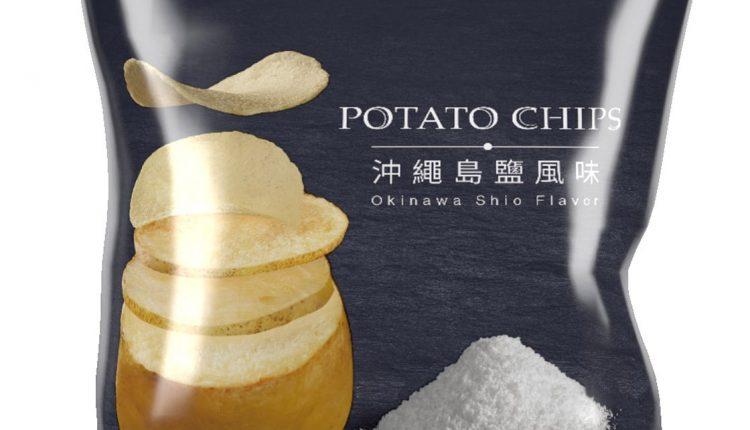 波的多洋芋片沖繩嚴選島鹽風味