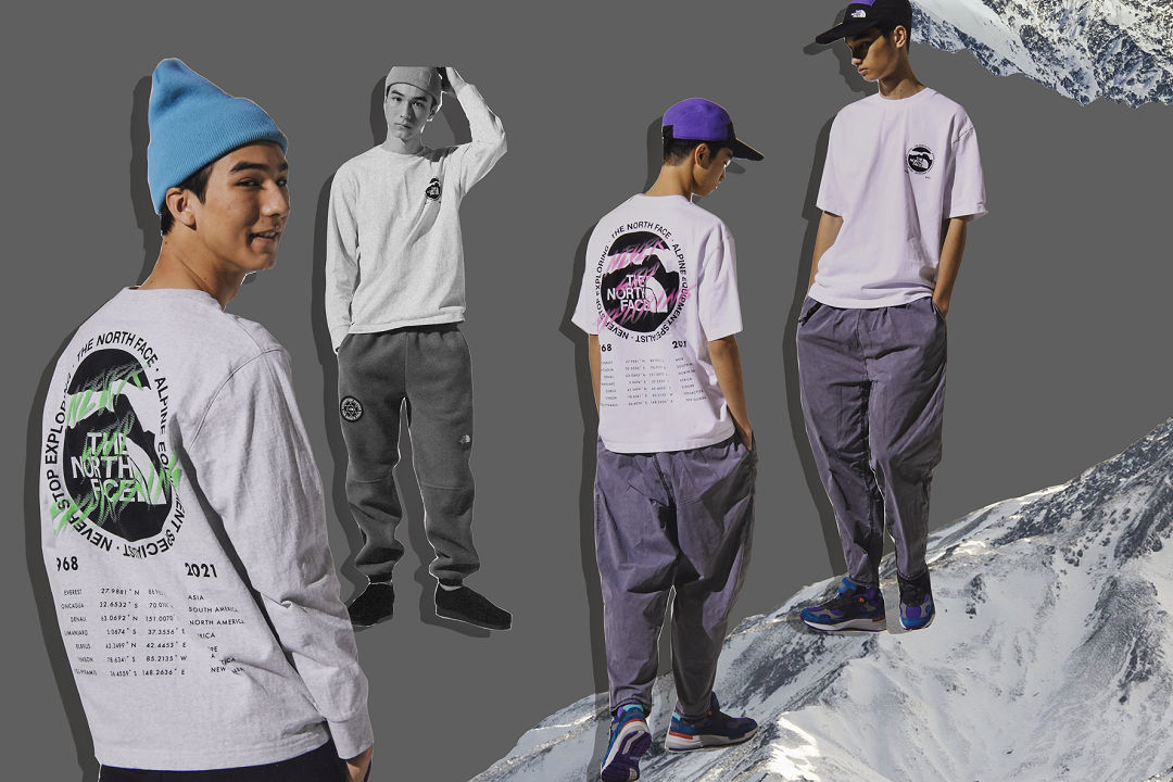 INVINCIBLE for THE NORTH FACE 21SS (8)