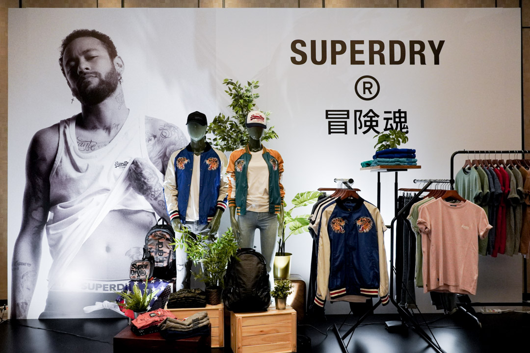 SUPERDRY BACK IN TAIWAN EVENT