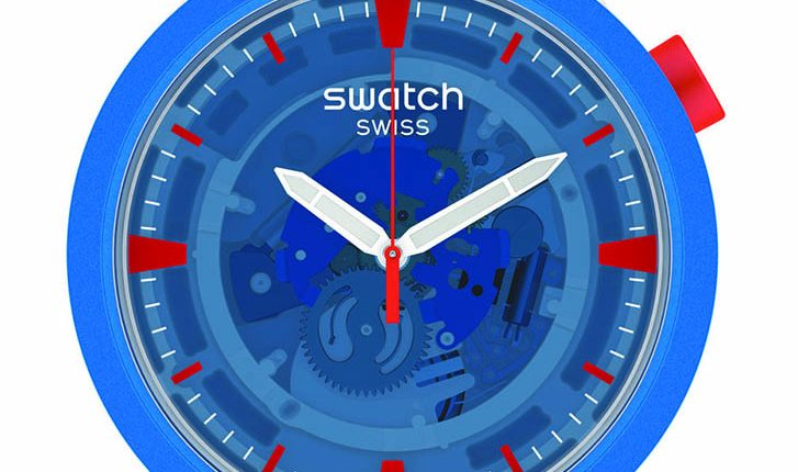 JUMPSUIT蔚藍宇宙(SB03Z100)錶徑47mm,售價:4,100元