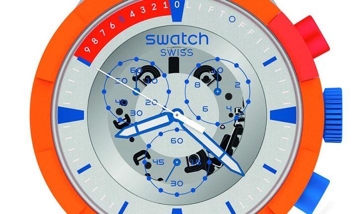LAUNCH橘色風暴 (SB04Z401) 錶徑47mm,售價:5,350元