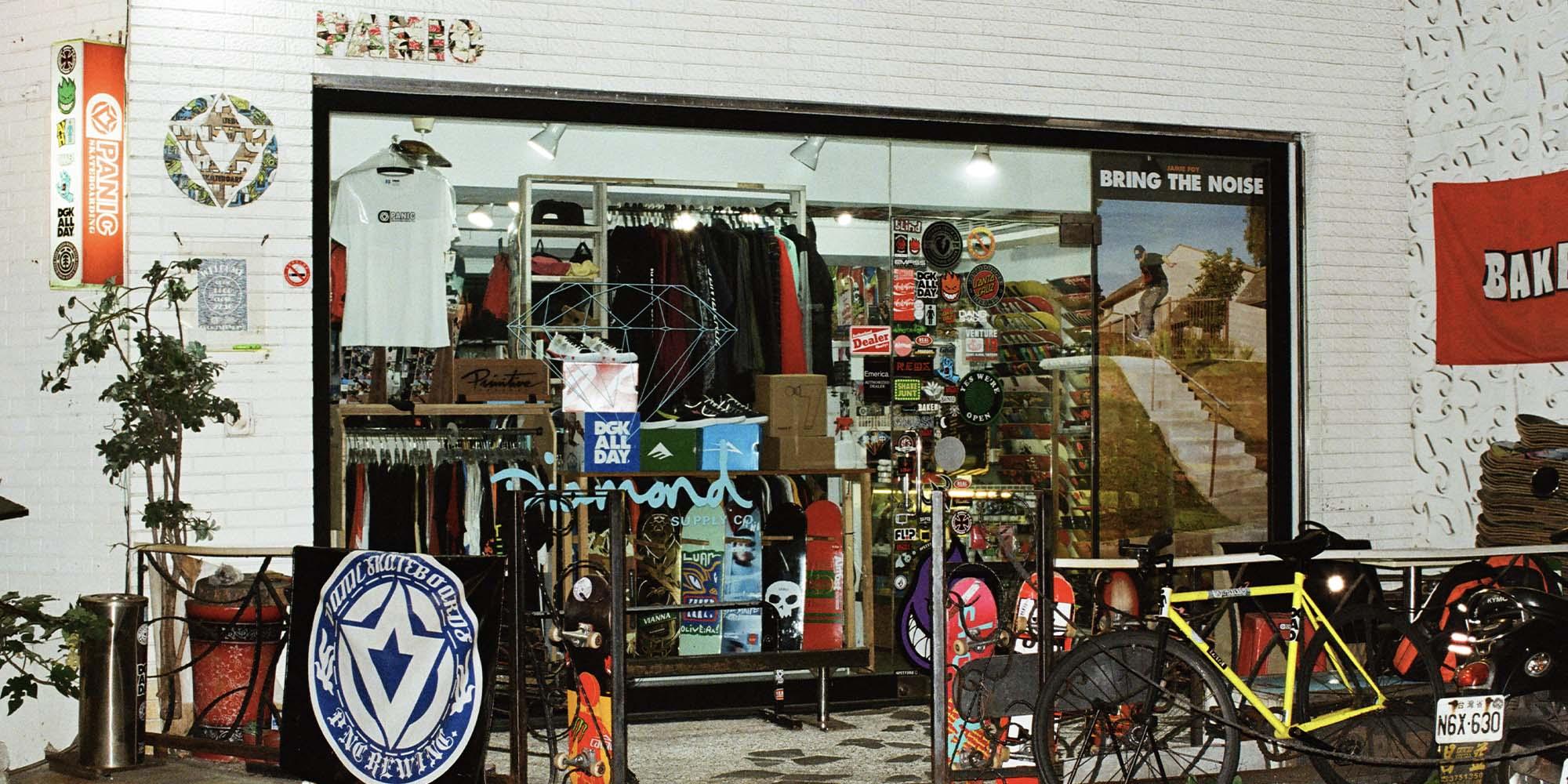 panic skate shop 13